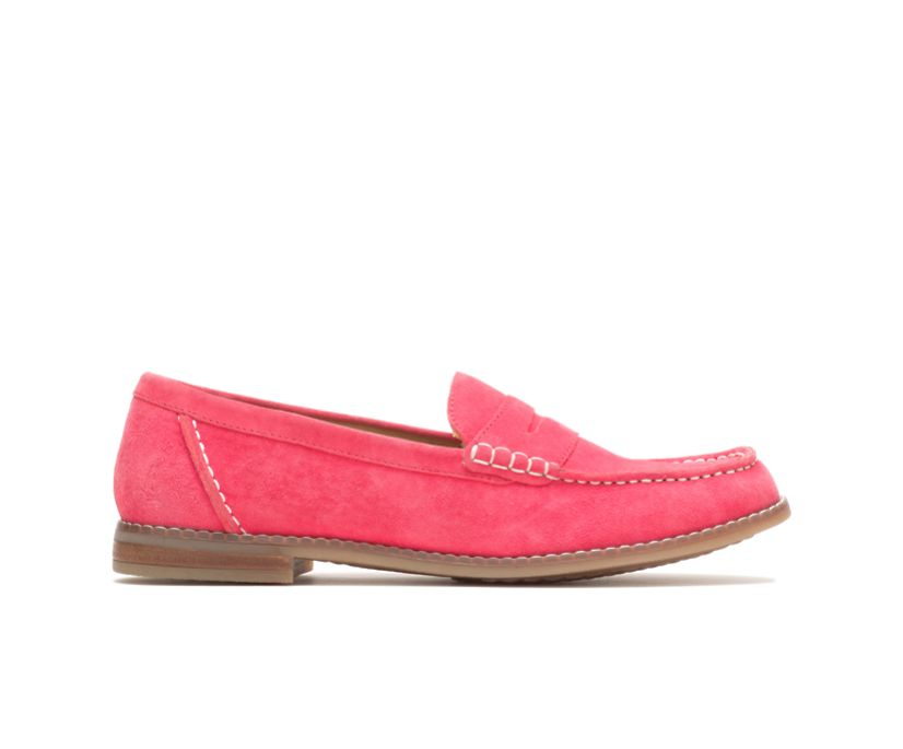 Wren Loafer, Soft Red Suede, dynamic