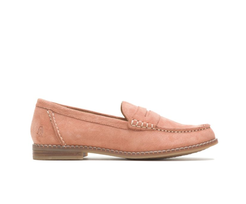 Wren Loafer, Salmon Suede, dynamic