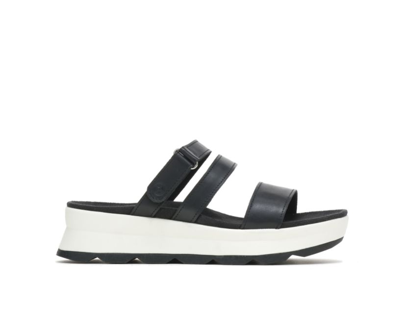 Andi Slide, Black Leather, dynamic