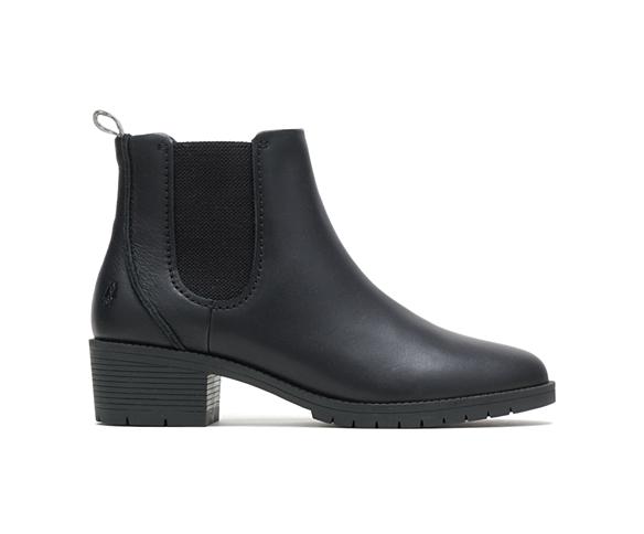 Hadley Chelsea Boot, Black Leather, dynamic