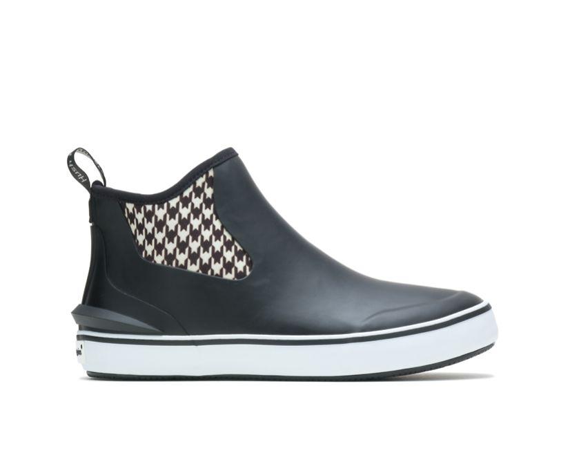 Rain Sneaker, Black/Houndstooth, dynamic