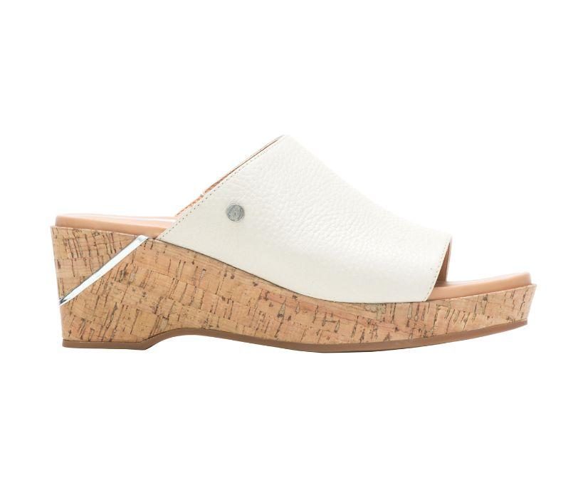 Maya Slide, Light Stone Leather, dynamic