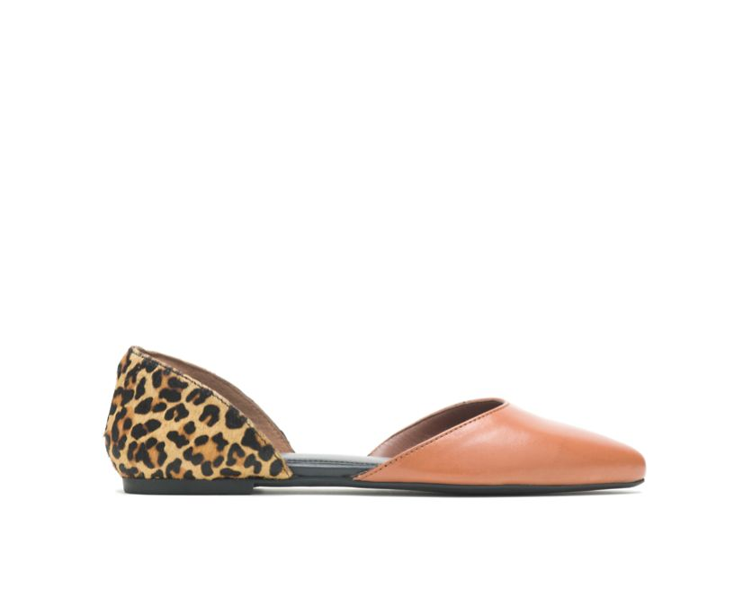 Sadie D'Orsay, Tan Leather/Cheetah, dynamic
