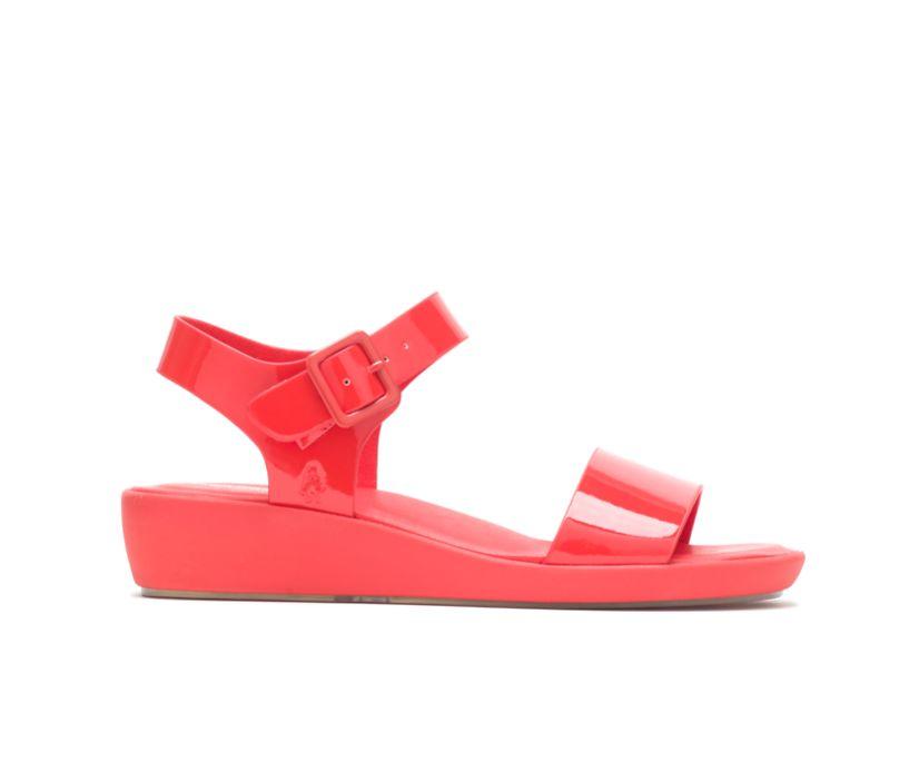 Brite Jells Quarter Strap Sandal, Fiesta Red, dynamic