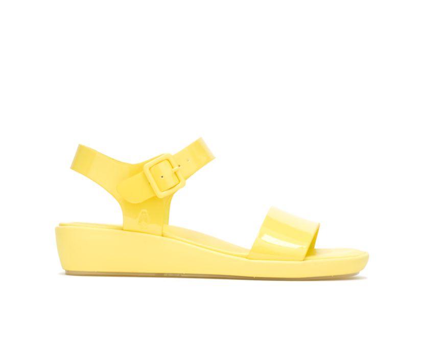 Brite Jells Quarter Strap Sandal, Sun Yellow, dynamic