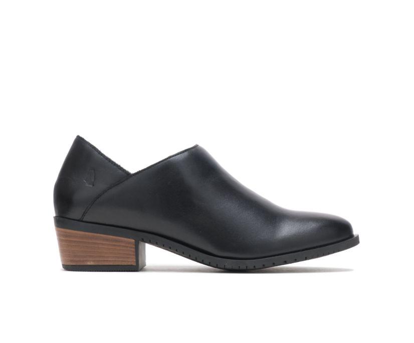Sienna Shootie, Black Leather, dynamic