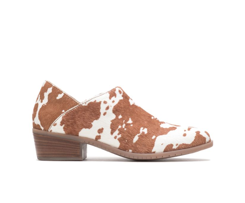 Sienna Shootie, Cow Print Leather, dynamic