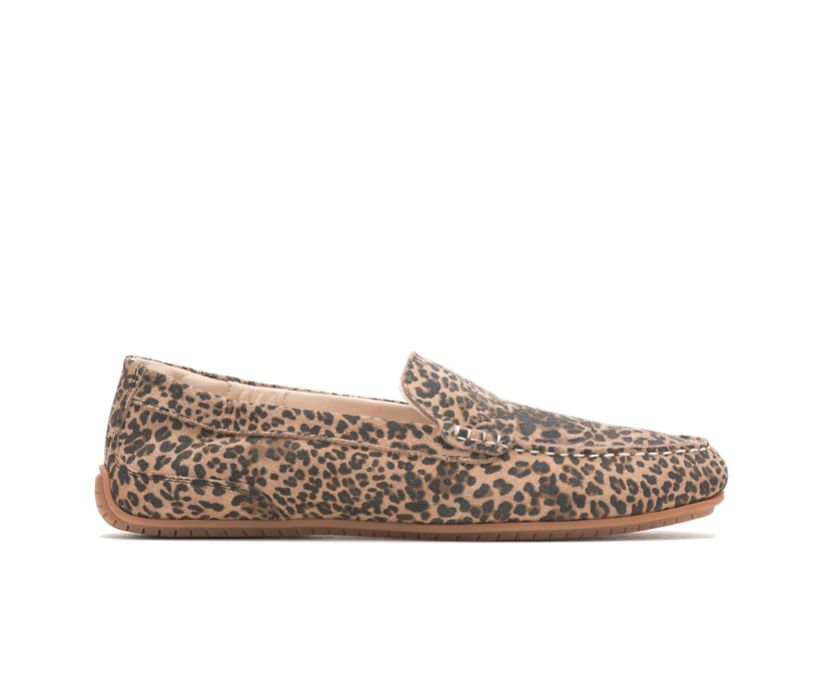 Cora Loafer, Leopard Print Suede, dynamic
