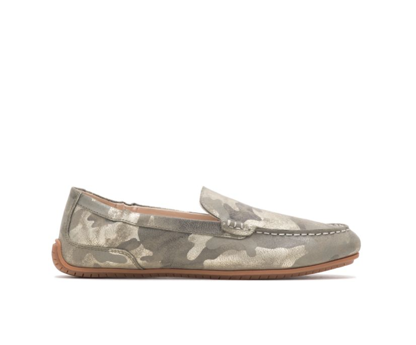 Cora Loafer, Camo Metallic Suede, dynamic