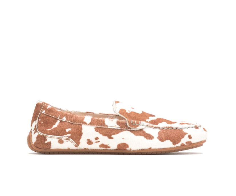 Cora Loafer, Cow Print Leather, dynamic