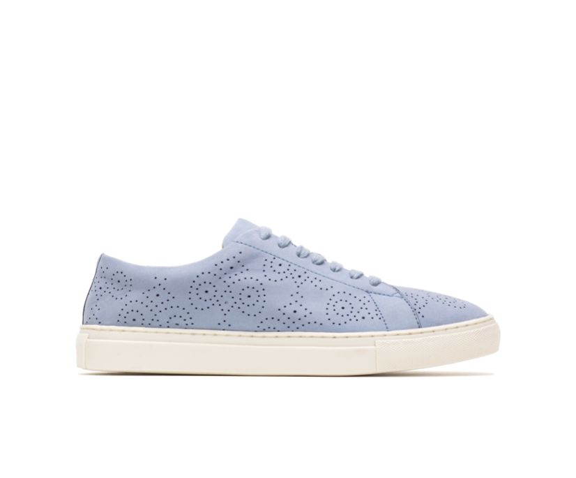 Manda Perf Lace Up, Blue Nubuck, dynamic