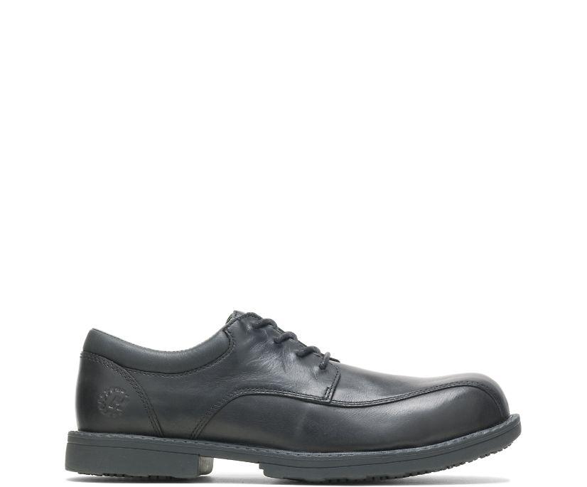Bradford Steel Toe Shoe, Black, dynamic