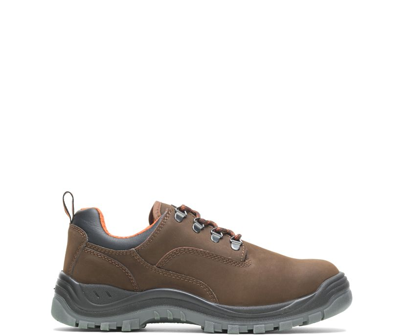 Knox Direct Attach Steel Toe Shoe, Brown, dynamic
