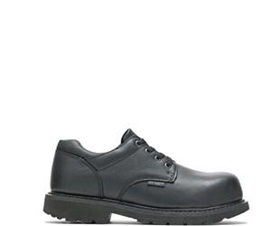 Brennan Waterproof Composite Toe Shoe, Black, dynamic