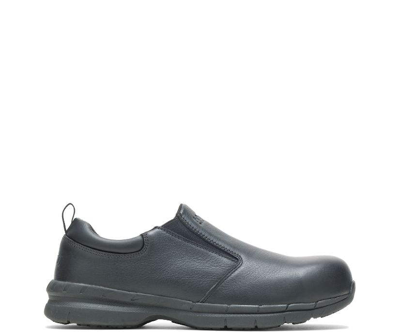 Carbon Nano Toe Slip On, Black, dynamic
