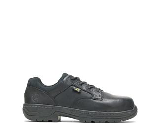 FootRests® Xt Metatarsal Guard Nano Toe Shoe, Black, dynamic