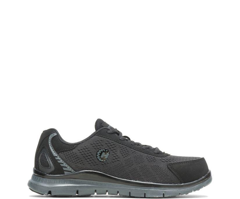 Bolt Steel Toe Shoe, Black, dynamic