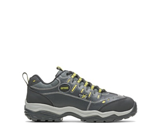 Avery Metatarsal Guard Steel Toe Shoe, Black, dynamic