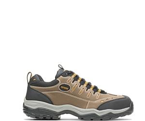 Avery Steel Toe Shoe, Brown, dynamic