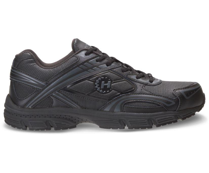 Steel Toe Shoe, Black, dynamic