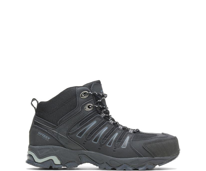 """Trekker Steel Toe 6"""" Hiker, Black, dynamic"""