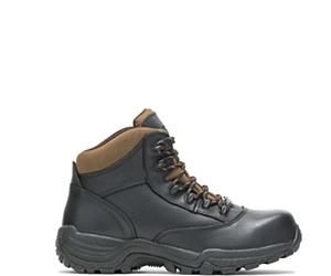 "Stout Waterproof Composite Toe 6"" Hiker, Black, dynamic"