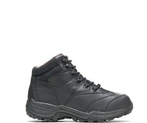 "Rylie Water Repellent Metatarsal Guard Composite Toe 6"" Hiker, Black, dynamic"