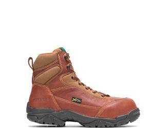 "Apex Waterproof Metatarsal Guard Composite Toe 6"" Work Boot, Brown, dynamic"