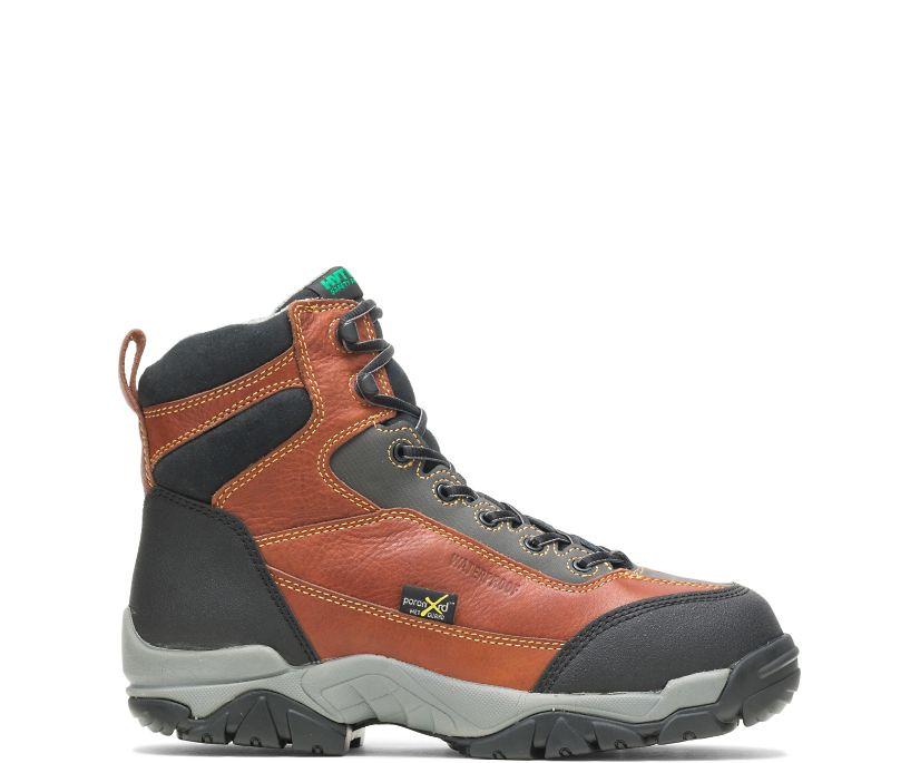 "Apex Waterproof Xrd® Metatarsal Guard Insulated Composite Toe 6"" Work Boot, Brown, dynamic"