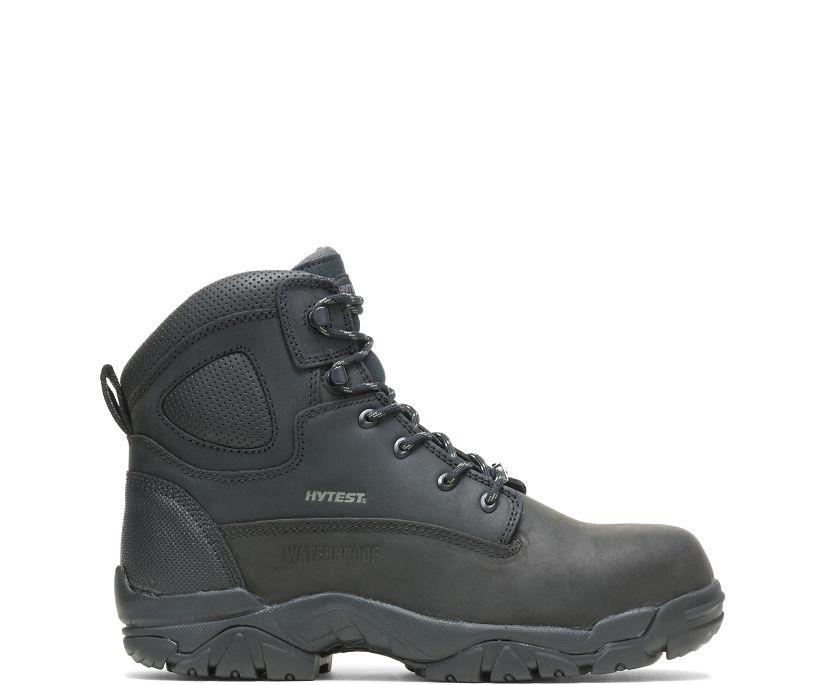 """Apex Waterproof Composite Toe 6"""" Work Boot, Black, dynamic"""