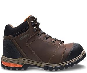 """Waterproof Steel Toe 6"""" Hiker, Brown, dynamic"""