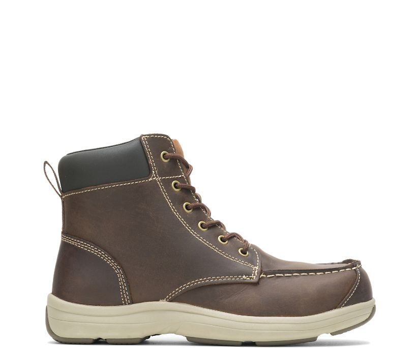 Anaheim Steel Toe Chukka, Brown, dynamic
