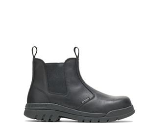 """Zinc Steel Toe 6"""" Slip On Work Boot, Black, dynamic"""