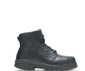 """Zinc Metatarsal Guard Steel Toe 6"""" Work Boot, Black, dynamic"""