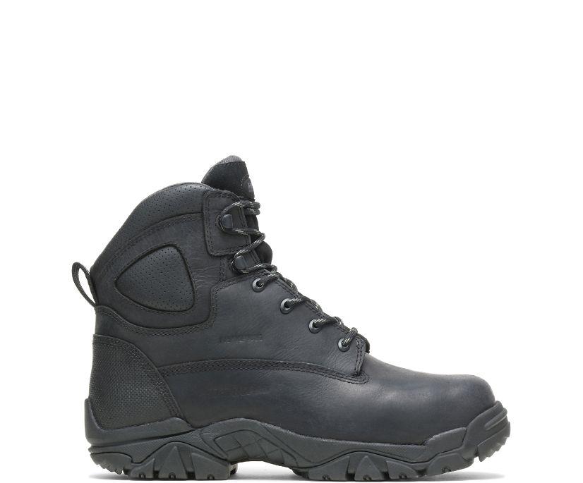 "Apex Metatarsal Guard Composite Toe Side Zip 6"" Work Boot, Black, dynamic"