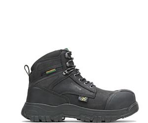 "FootRests® High Energy Waterproof Metatarsal Guard Composite Toe  6"" Work Boot, Black, dynamic"