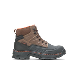 """Kane Waterproof Insulated Composite Toe 6"""" Work Boot, Brown, dynamic"""