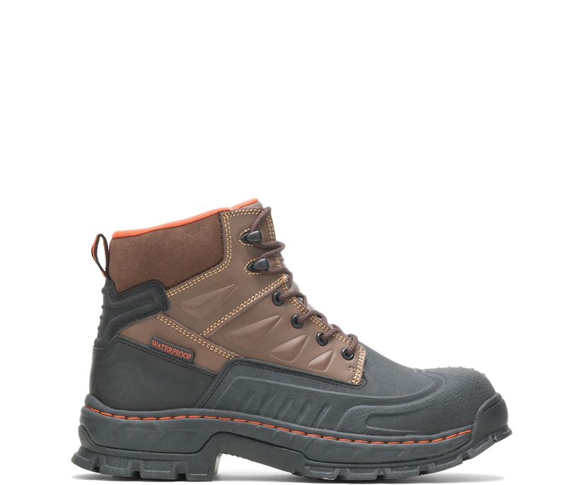 "Kane Waterproof Insulated Composite Toe 6"" Work Boot, Brown, dynamic"