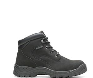 "Knox Waterproof Direct Attach Steel Toe 6"" PR Work Boot, Black, dynamic"