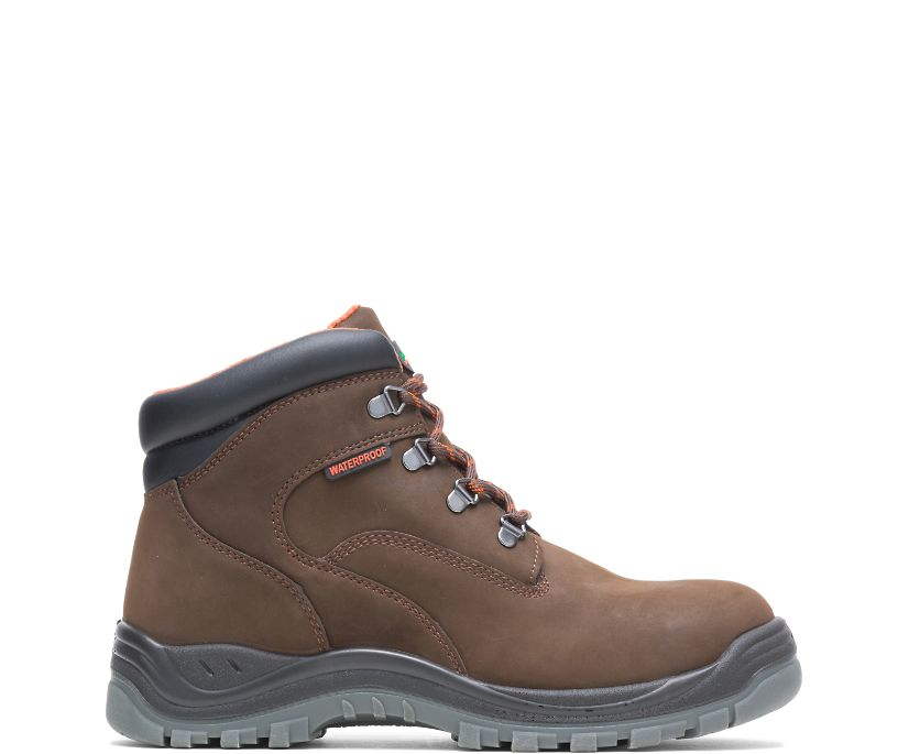 """Knox Direct Attach Steel Toe 6"""" Work Boot, Brown, dynamic"""