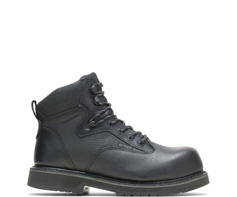 "Byron Waterproof Composite Toe 6"" Work Boot, Black, dynamic"