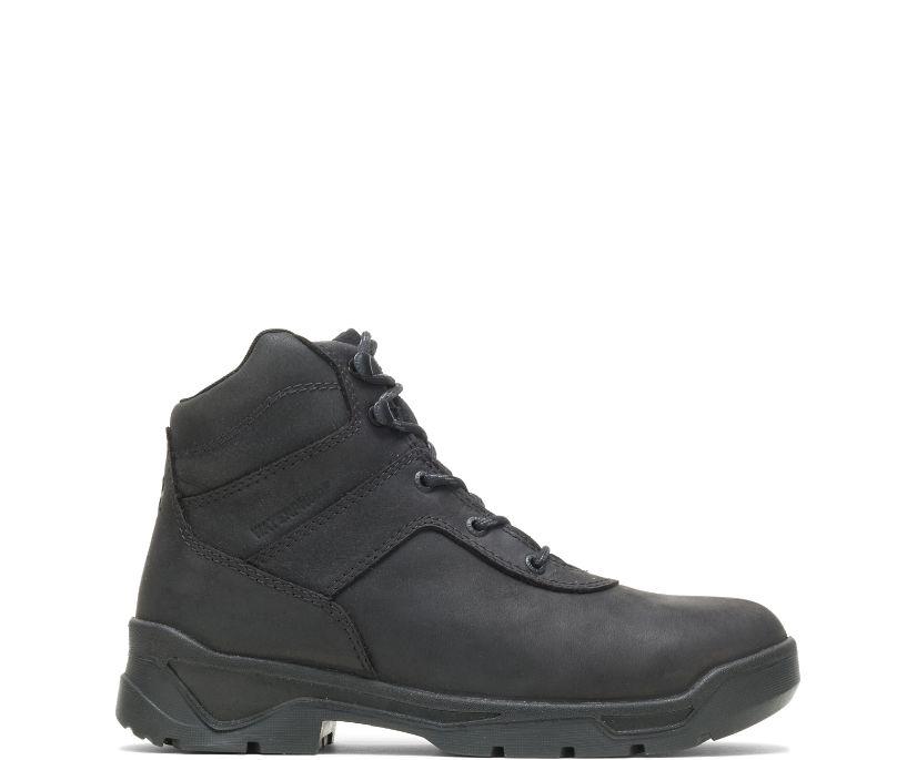 """Knock Waterproof  Direct Attach Steel Toe 6"""" Boot, Black, dynamic"""