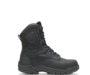 "Apex Metatarsal Guard Composite Toe Side Zip 8"" Work Boot, Black, dynamic"
