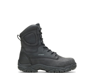 """Apex Waterproof Insulated Composite Toe 8"""" Work Boot, Black, dynamic"""