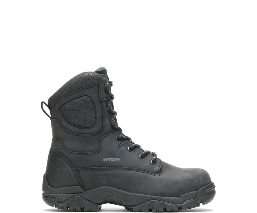 "Apex Waterproof Insulated Composite Toe 8"" Work Boot, Black, dynamic"