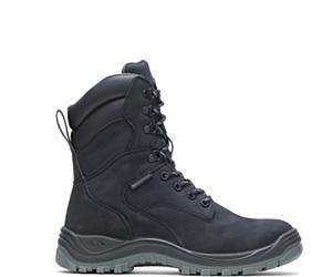 "Knox Waterproof Direct Attach Steel Toe 8"" Boot, Black, dynamic"