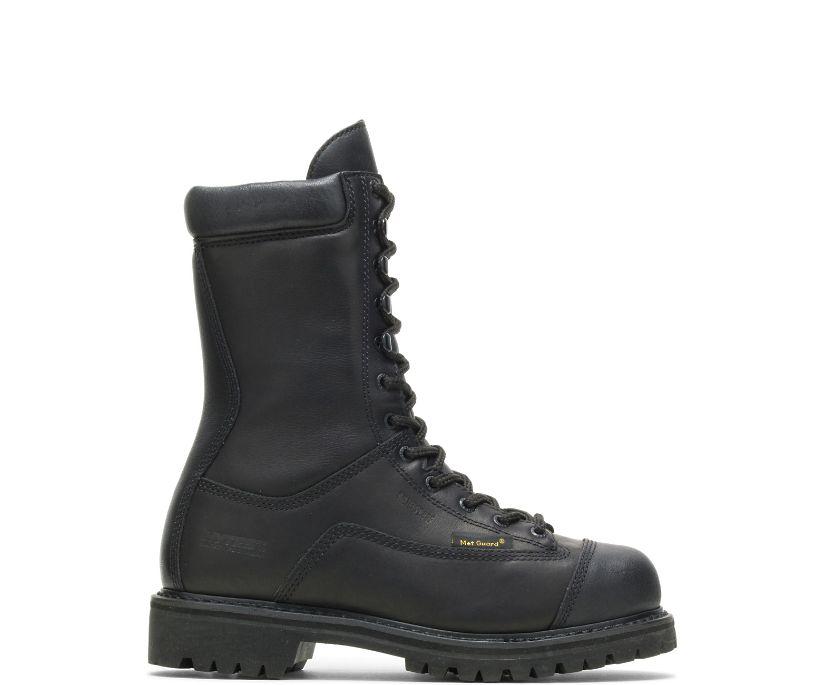 "Spartan Waterproof Metatarsal Guard Insulated Steel Toe 10"" Work Boot, Black, dynamic"