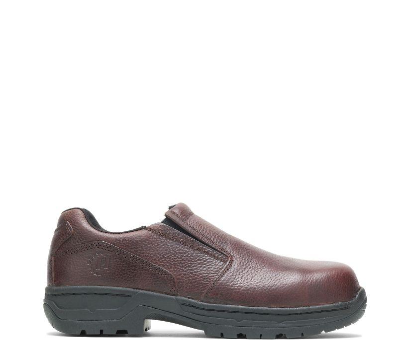 FootRests® Xt Nano Toe Slip On, Brown, dynamic