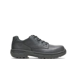 FootRests® Xt Nano Toe Shoe, Black, dynamic