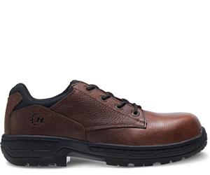 FootRests® Xt Nano Toe Shoe, Brown, dynamic